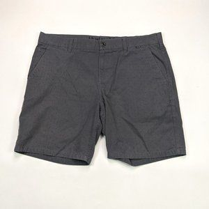 Hurley Walk Shorts Mens Size 38 Charcoal Gray